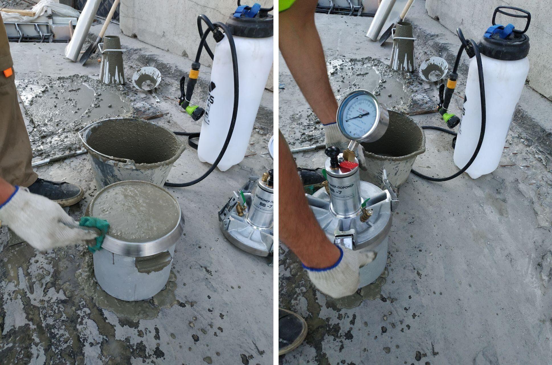 Воздухововлечение бетонных смесей какой есть бетон