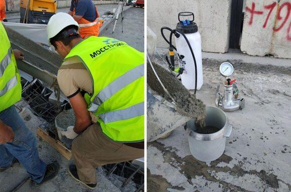 определение воздухововлечение бетонной смеси